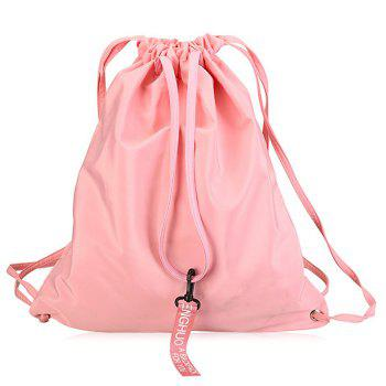 Nylon Drawstring Convertible Backpack