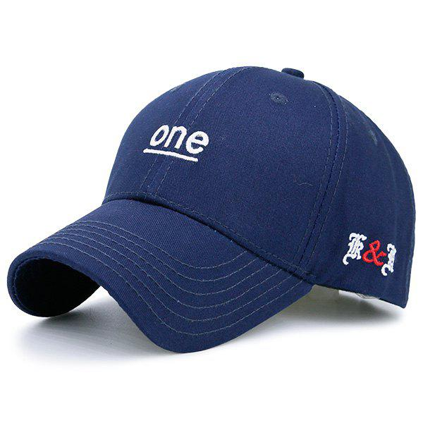 Letters Embroidered Baseball Hat letters behind gesture embroidered baseball hat