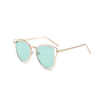 UV Protection Metal Frame Butterfly Sunglasses