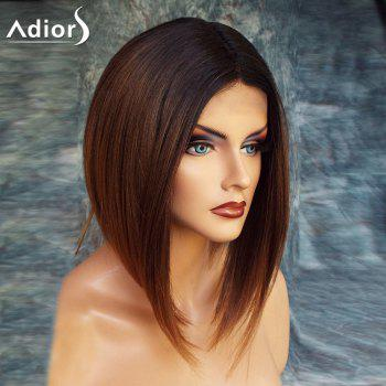 Adiors High Low Short Straight Center Parting Bob Colormix Synthetic Wig