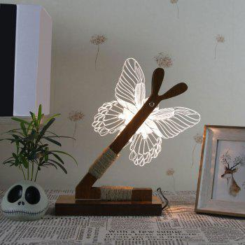 3D Stereoscopic Butterfly LED Desk Lamp