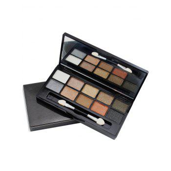10 Colours Mineral Shimmer Matte Eyeshadow Palette