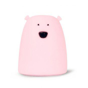 Bear Silicon LED Color Change Night Light