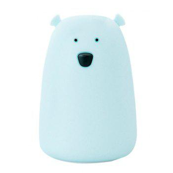 Bear Silicon Color Change Rechargeable LED Night Light