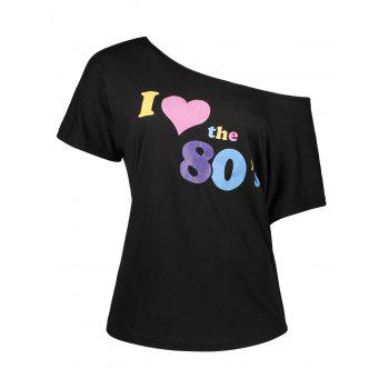 I Love The 80s Retro Pop Star Tee