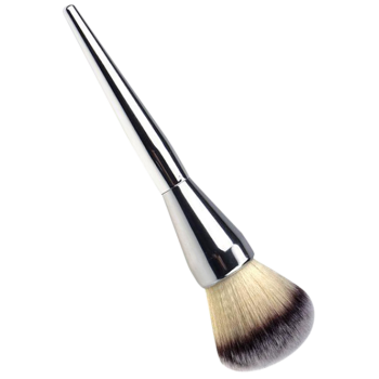 Multifunctional Tapered Plated Handle Foundation Brush