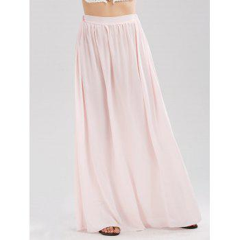 Chiffon Floor Length Skirt