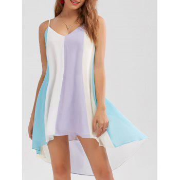 High Low Hem Flowy Slip Dress
