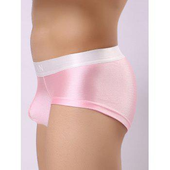 U Convex Pouch Metallic Color Trunks - PINK M