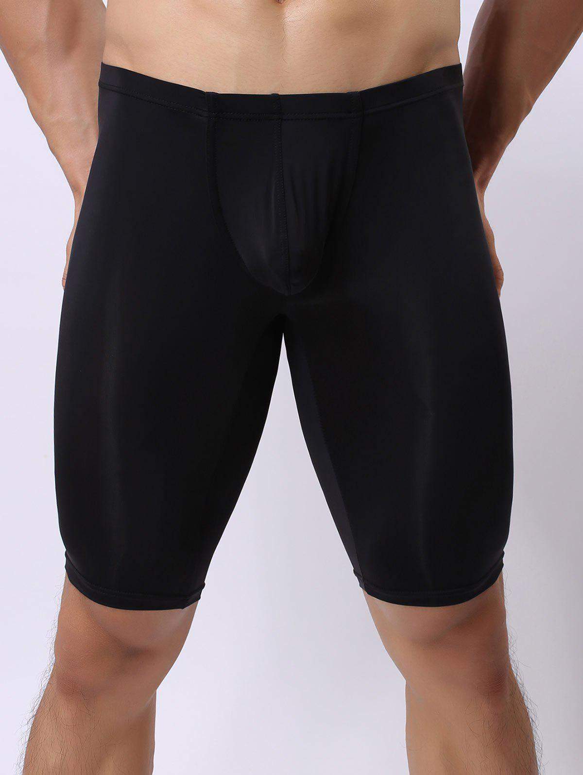 High Stretch U Convex Pouch Boxers - BLACK S