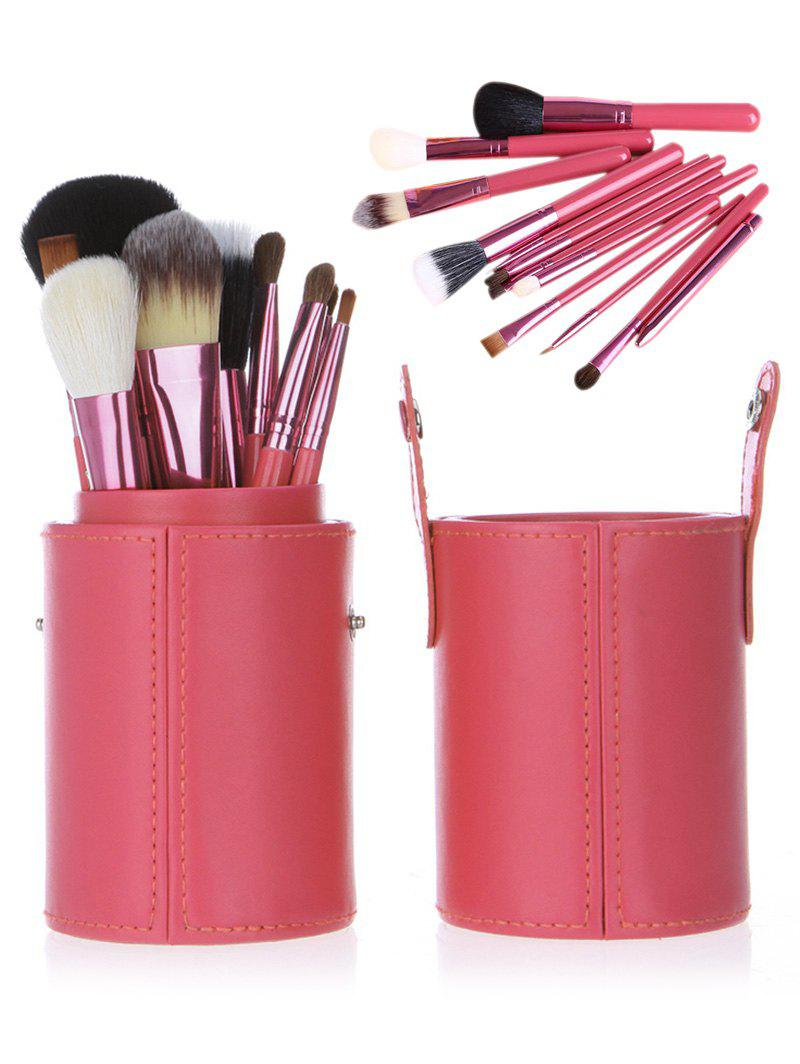 где купить 12Pcs Multifunction Portable Makeup Brushes and Bucket по лучшей цене