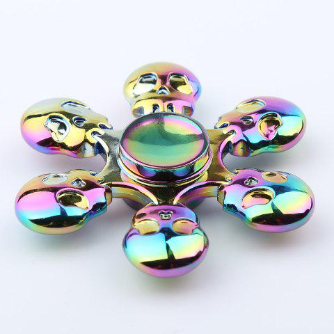 Skull Blades Fast Bearing Hand Spinner Fidget Toy - COLORFUL 6.5*6.5*1.3CM