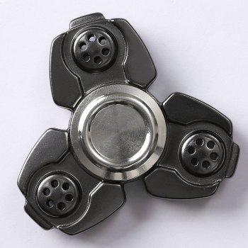 Russia CKF Alloy Finger Gyro Stress Relief Toys Fidget Spinner - BLACK