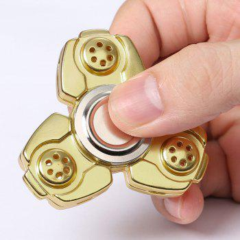 Russie CKF Alloy Finger Gyro Stress Relief Toys Fidget Spinner - Or