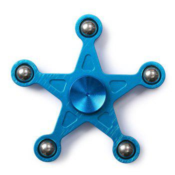 Star Shape Metal Balls Fidget Spinner