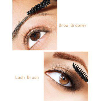50 Pcs / Pack One-Off Eye Brow Groomer Brushes - Rouge