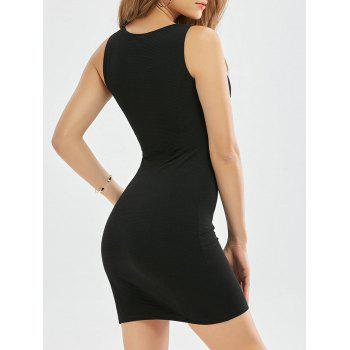 Ribbed Bodycon Tank Dress
