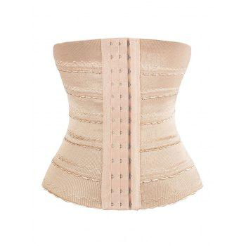 Steel Boned Scalloped Waist Training Corset