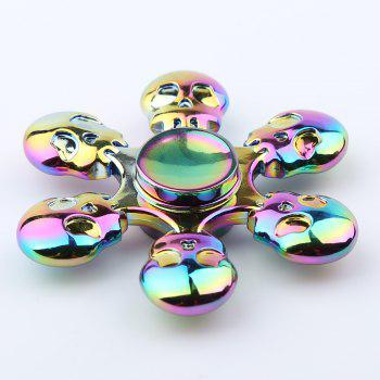 Skull Blades Fast Bearing Hand Spinner Fidget Toy - COLORFUL COLORFUL