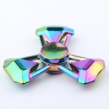 Fidget Toy Tri-Spinner Zinc Alloy Finger Gyro - Coloré 7*7*1.3CM