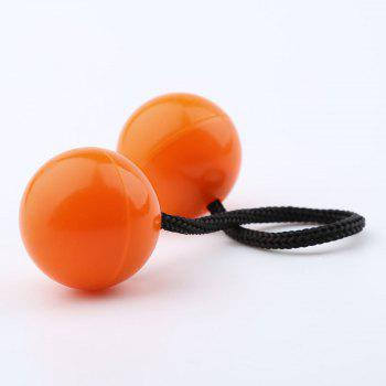 Thumb Chucks Fidget Ball Toy Glow in Dark Spinner -  ORANGE