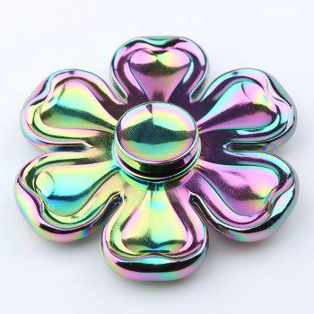 Petaloid Zinc Alloy Fidget Toy Hand Spinner - COLORFUL COLORFUL