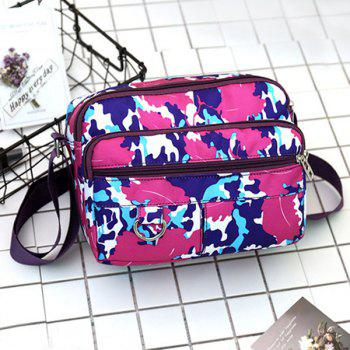 Casual Nylon Printed Crossbody Bag