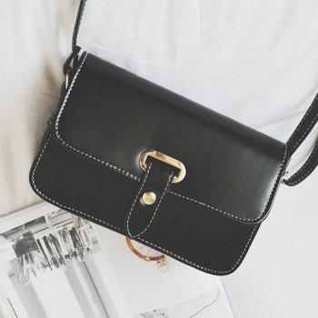 Stitching Flap Crossbody Bag