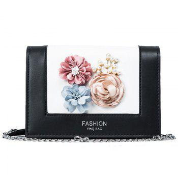 Flowers Chain Crossbody Bag