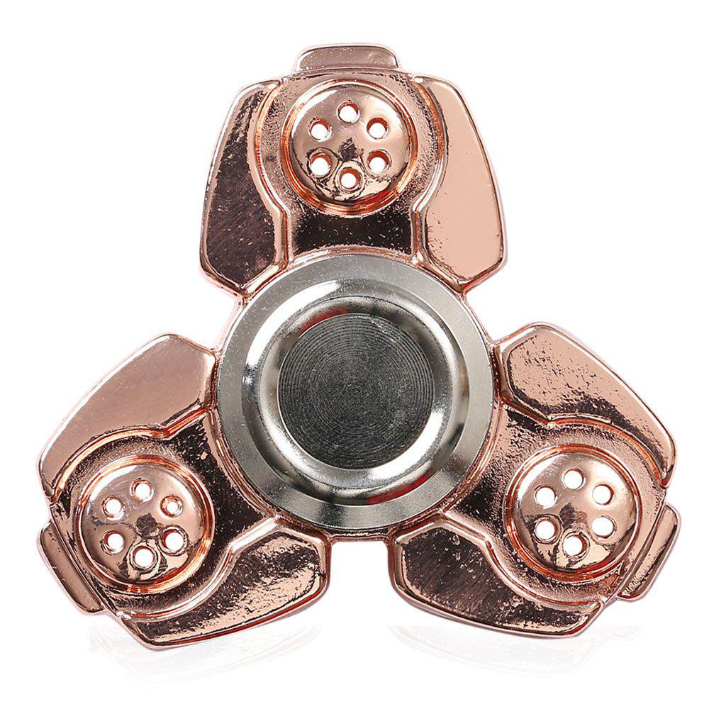 Russie CKF Alloy Finger Gyro Stress Relief Toys Fidget Spinner - Rose d'Or
