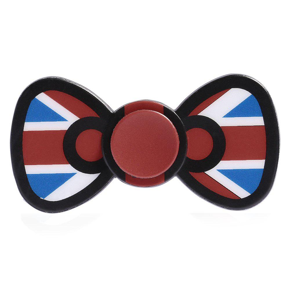 Bowknot Fidget Spinner EDC Toy Plastic Finger Gyro - Rouge Clair