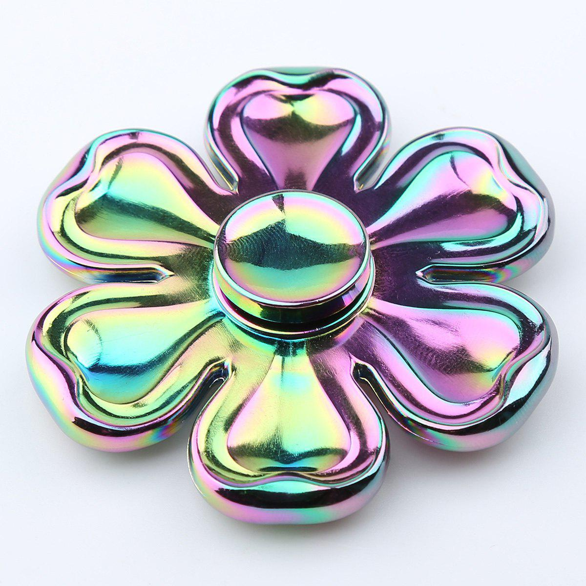Petaloid Zinc Alloy Fidget Toy Hand Spinner - COLORFUL 6.5*6.5*1.5CM