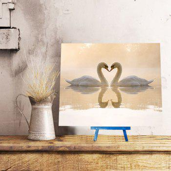 Goose in Lake Pattern DIY 5D Resin Diamond Paperboard Painting