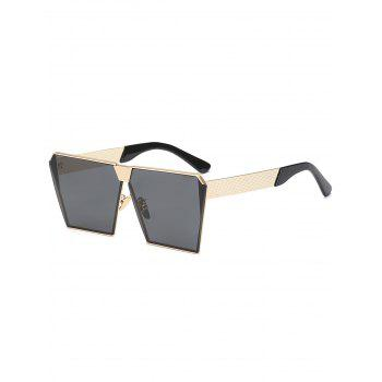 Retro Square Frame Street Snap Sunglasses