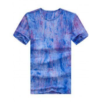 Short Sleeve Tie Dyed Tee