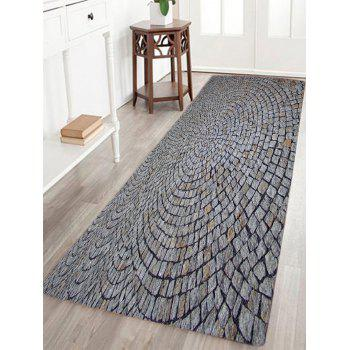 Stone Floor Pattern Indoor Outdoor Area Rug
