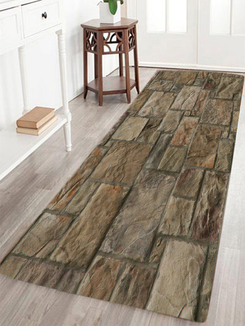 2018 Vintage Stone Floor Pattern Indoor Outdoor Area Rug