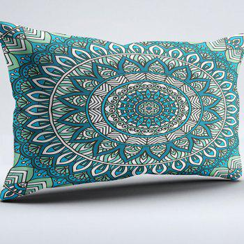 Bohemian Style Floral Brushed Fabric Pillow Case