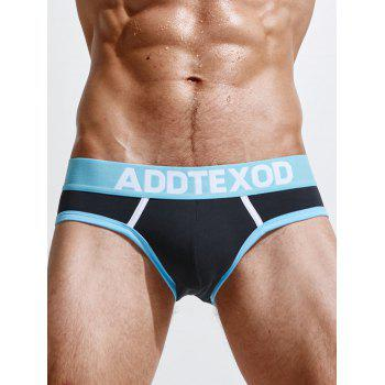 Color Block Cotton Low Rise Briefs