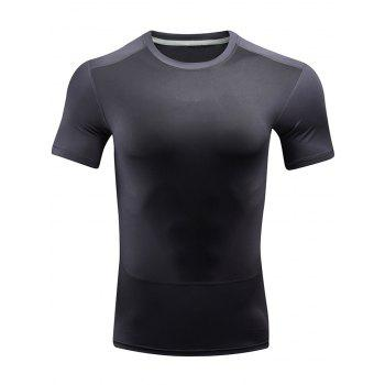 Color Block Quick Dry Sport T-shirt