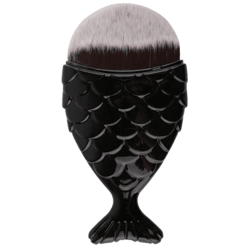 MAANGE Mermaid Tail Shape Foundation Brush