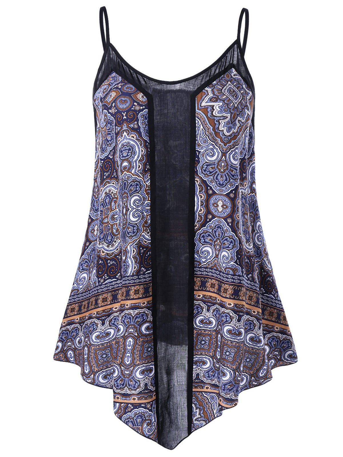 Plus Size Paisley Tank Top inc new purple pink paisley printed women s size small s tank cami top $59
