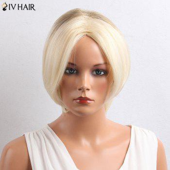Siv Hair Colormix Short Center Part Straight Bob Human Hair Wig
