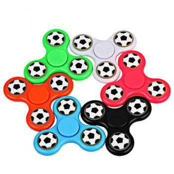 Glow in the dark Focus Toy Football Fidget Spinner -  WHITE