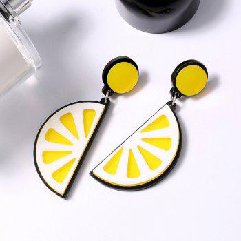 Fruit Lemon Drop Earrings