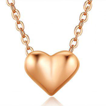 Heart Collarbone Pendant Necklace
