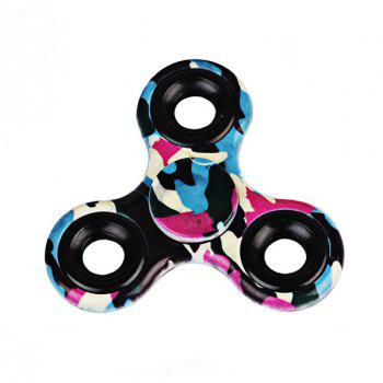Stress Relief Toys Printed Hand Fidget Spinner - PURPLE PURPLE