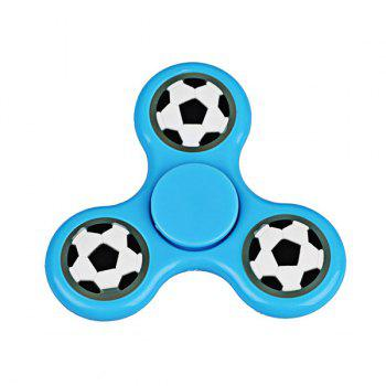 Glow in the dark Focus Toy Football Fidget Spinner - BLUE BLUE