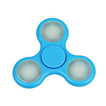 Glow in the dark Focus Toy Football Fidget Spinner -  BLUE