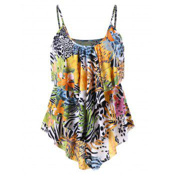 Layered Tropical Cami Top